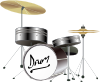 free vector Drum Kit clip art