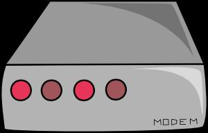 free vector Dsl Cable Modem clip art
