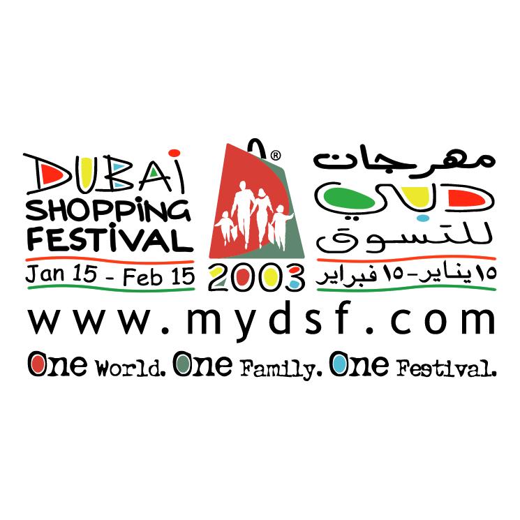 free vector Dubai shopping festival 2003