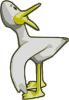 free vector Duck (yellow) clip art
