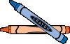 free vector Dug Crayons clip art