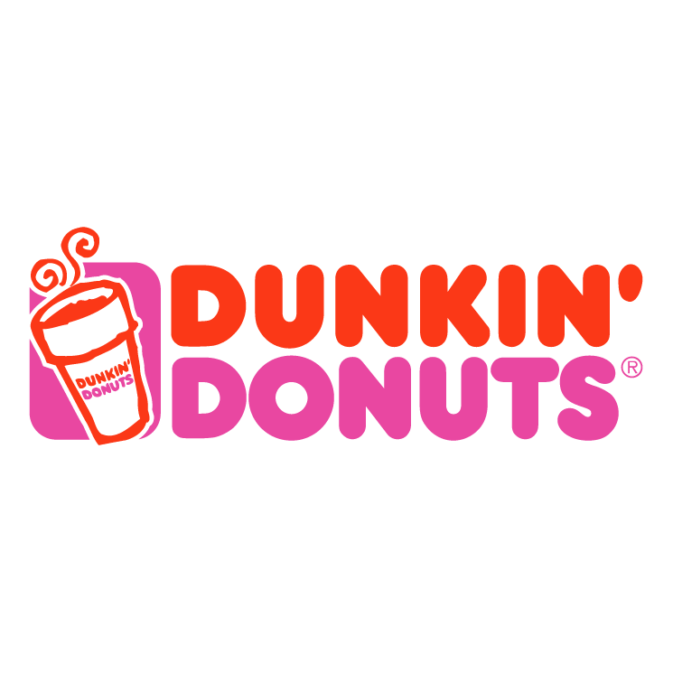 free vector Dunkin donuts 2