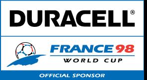 free vector Duracell France98 logo