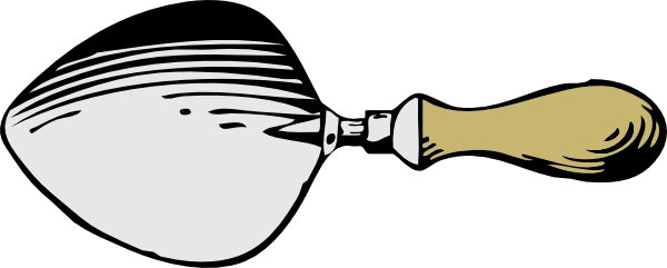 free vector Dutch Trowel clip art