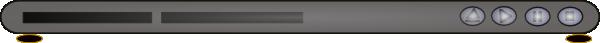 free vector Dvd Player clip art