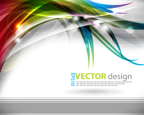 free vector Dynamic background of vector graphic symphony