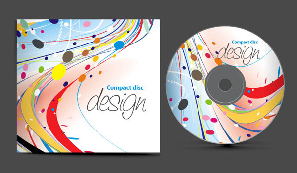 Dynamic cd covers (756) Free EPS Download / 4 Vector
