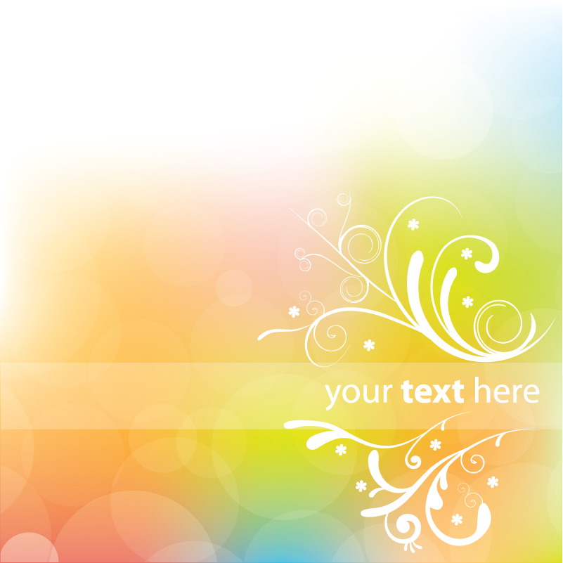 free vector Dynamic halo background 02 vector 17211