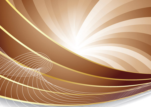 free vector Dynamic Lines Of A Brown Background Vector Abstract Dynamic Vector