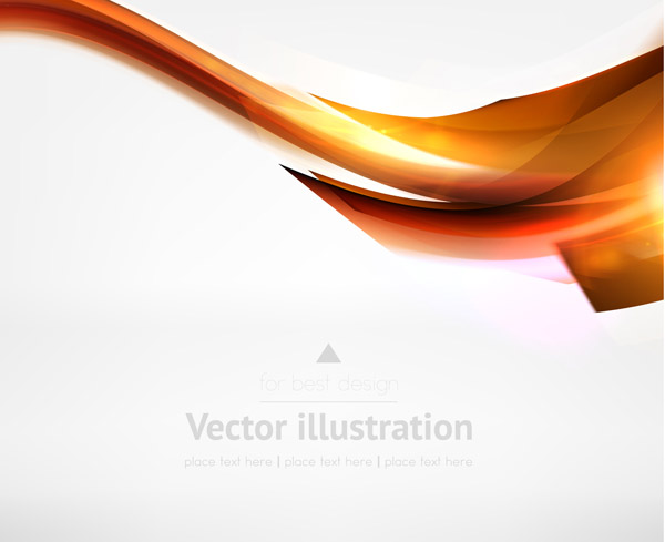 free vector Dynamic lines of the background vector 3