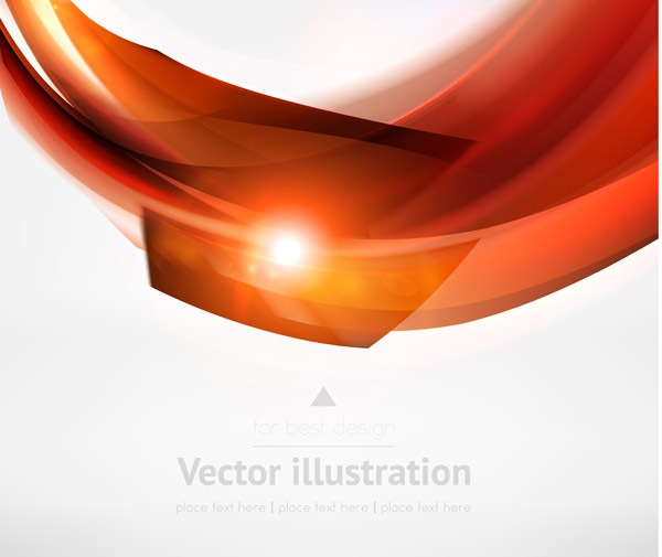 free vector Dynamic lines of the background vector 4