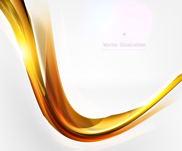 free vector Dynamic lines of the background vector 5