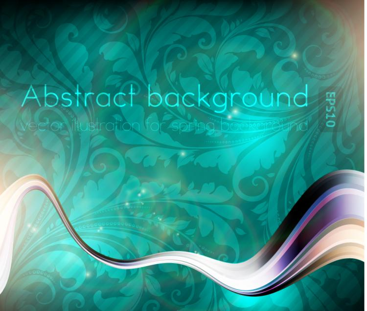 free vector Dynamic luxury background 02 vector