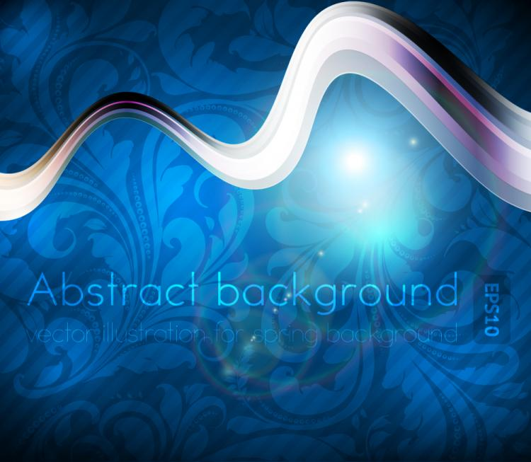 free vector Dynamic luxury background 04 vector