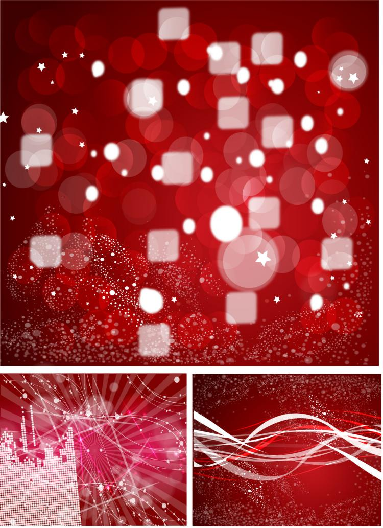 free vector Dynamic the halo background vector