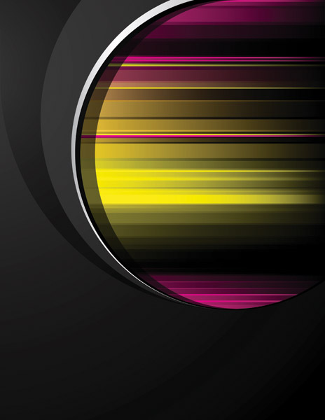 free vector Dynamic trend of the black background vector