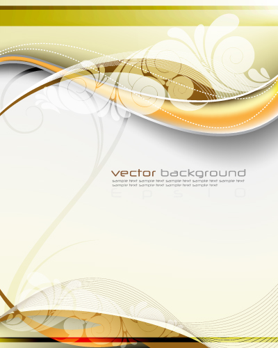 free vector Dynamic vector fantasy background
