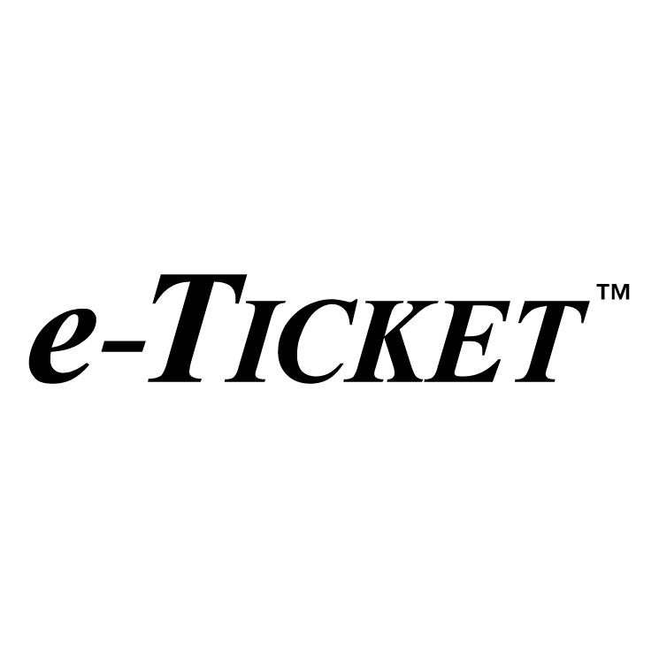 free vector E ticket 0