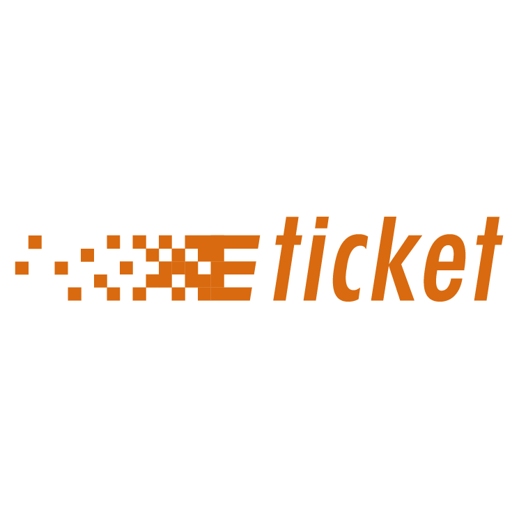 Ticket alimentacao Free Vector 4Vector – E Ticket Template