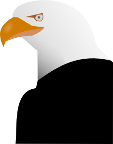 free vector Eagle clip art 119176