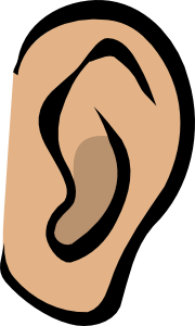 free vector EarBody Part clip art
