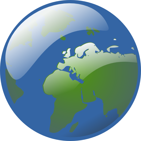 free vector Earth Globe clip art