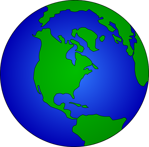 ... Free Vector Earth Globe Clip Art