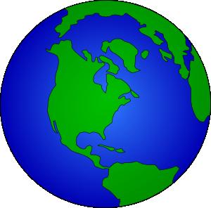 earth globe clip art free vector 4vector rh 4vector com globe vector artwork world globe vector art