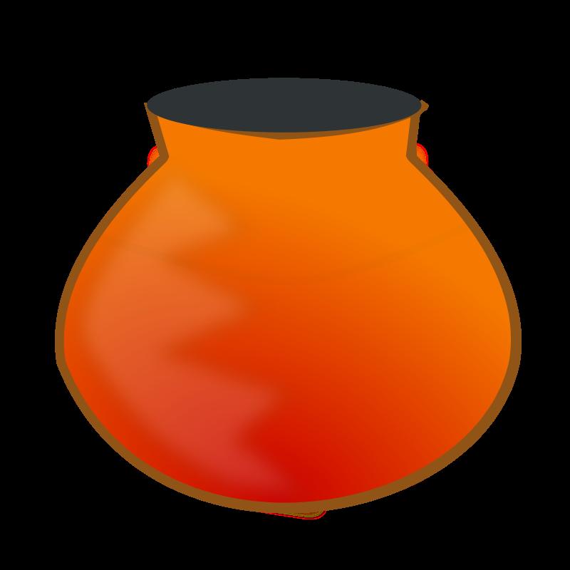 free vector Earthen pot