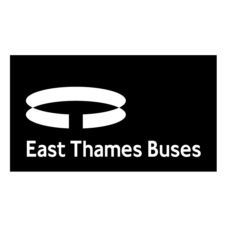 free vector East thames buses