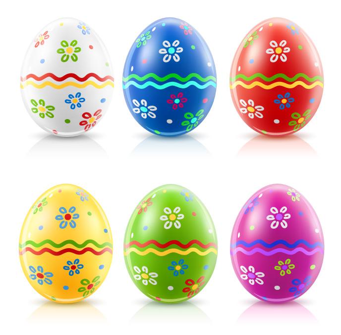 free vector Easter egg album vector