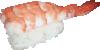 free vector Ebi Nigiri Sushi clip art