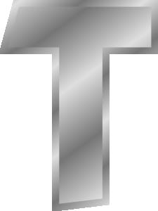 free vector Effect Letters Alphabet Silver clip art 104653