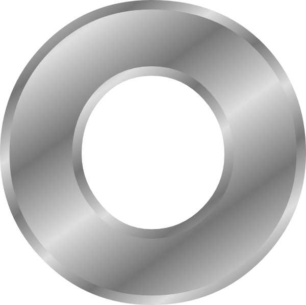 free vector Effect Letters Alphabet Silver clip art 104658