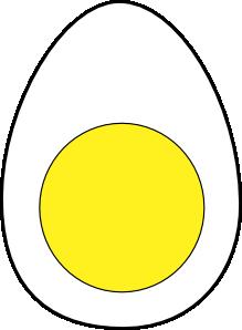 free vector Egg White Yellow Protein clip art