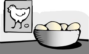 free vector Eggs clip art