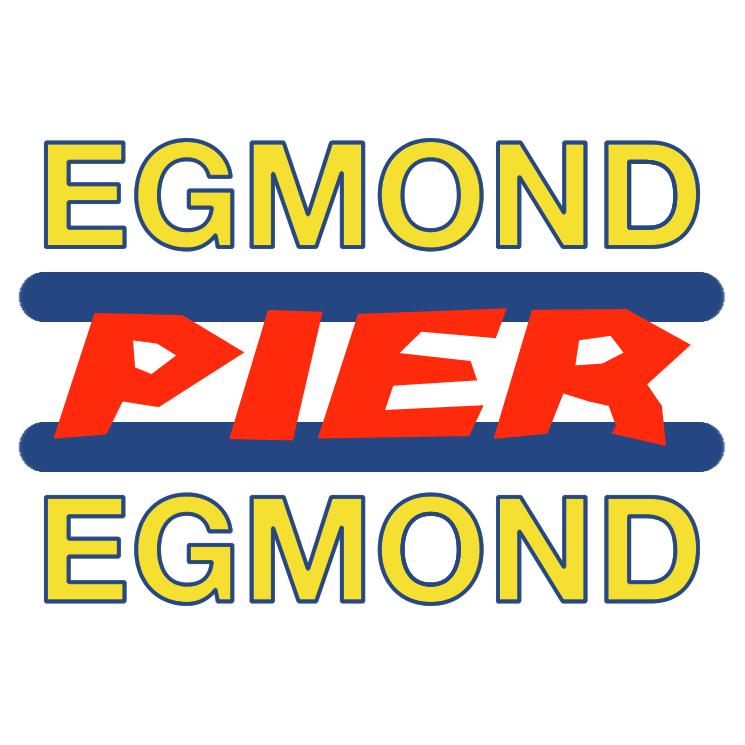 free vector Egmond pier egmond