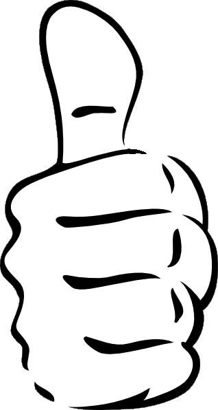 free vector Egore Thumb Up clip art