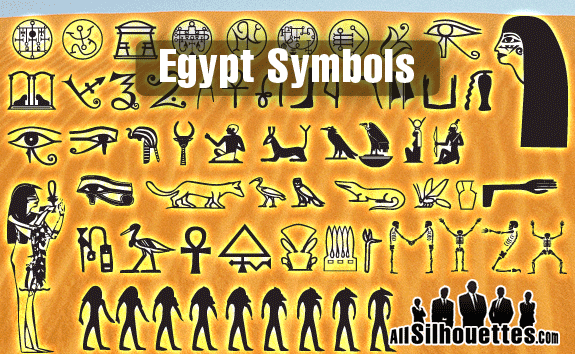 free vector Egyptian Symbols