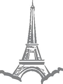 free vector Eiffel Tower Paris clip art