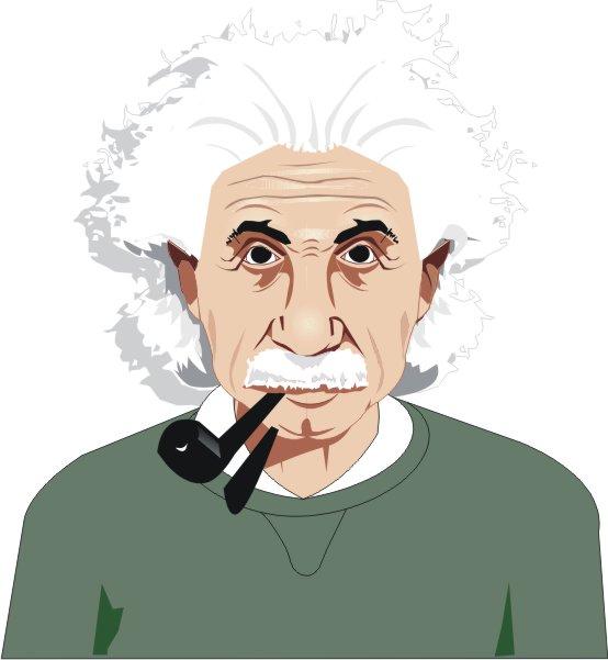 free vector Einstein vector material