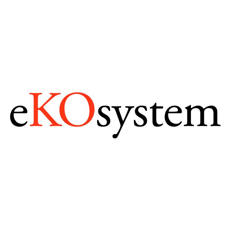 free vector Ekosystem