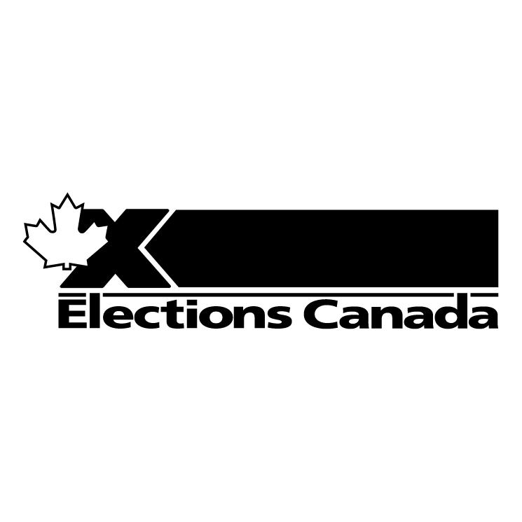 free vector Elections canada