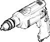 free vector Electric Drill clip art
