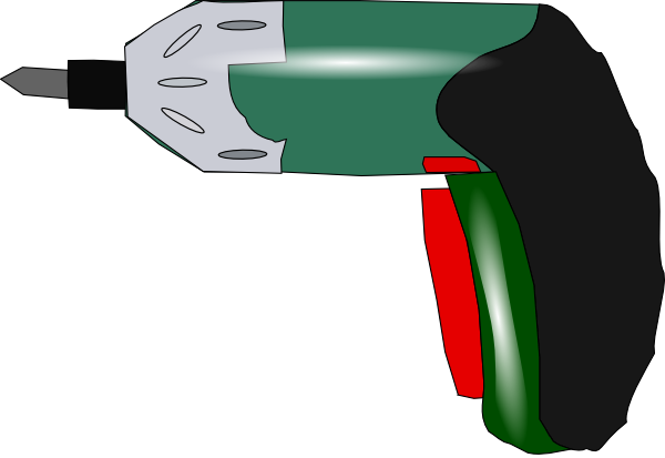 Electric Drill Clip Art Free Vector 4vector