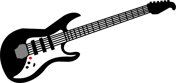electric guitar clip art free vector 4vector rh 4vector com  electric guitar clip art images