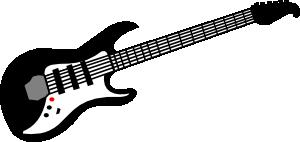 free vector Electric Guitar clip art