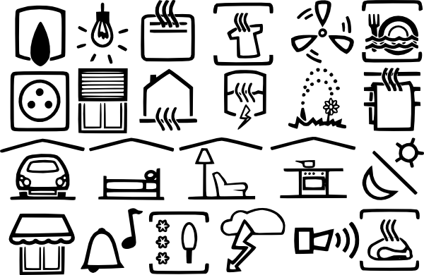 free vector Electric Symbols clip art