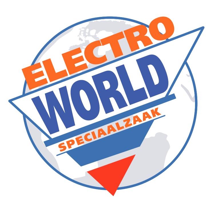 free vector Electro world