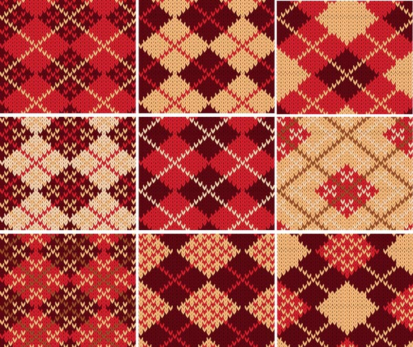 free vector Elegance of the twoparty continuous pattern vector